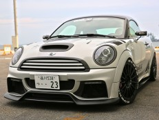 DuelL AG R56 Krone Edition Front Bumper Ver2.11/2.22