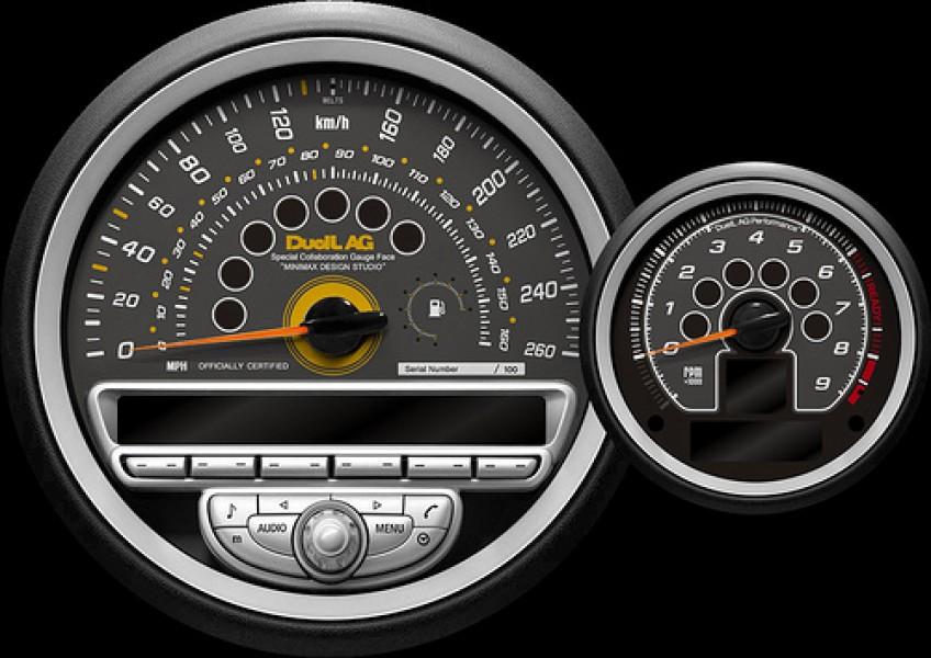 Meter gauge Face Vwe1.2